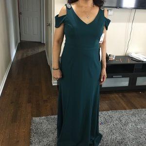 Formal green dress